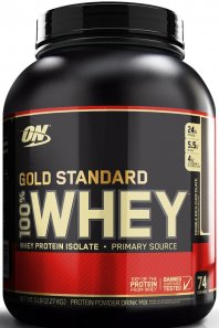 Optimum Nutrition 100 % Whey Gold Standard Protein im Test