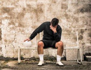 Fussballer traurig über Doping Bericht